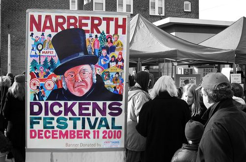 Narberth_Dickens_sign